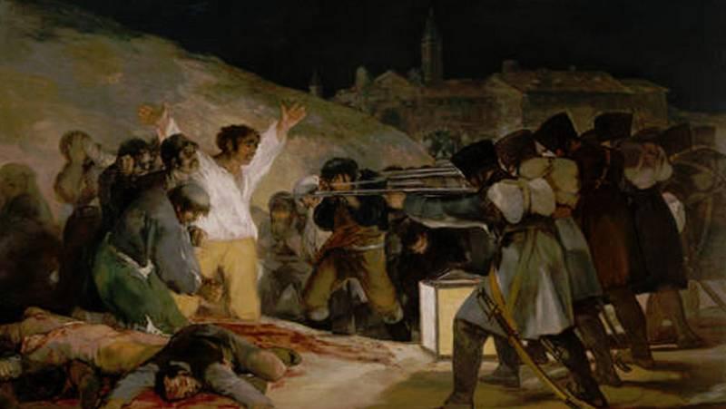 Mirar un cuadro - Los fusilamientos de La Moncloa (Goya)