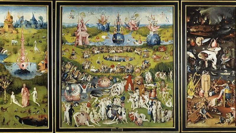 Mirar un cuadro - El jardín de las delicias (El Bosco)