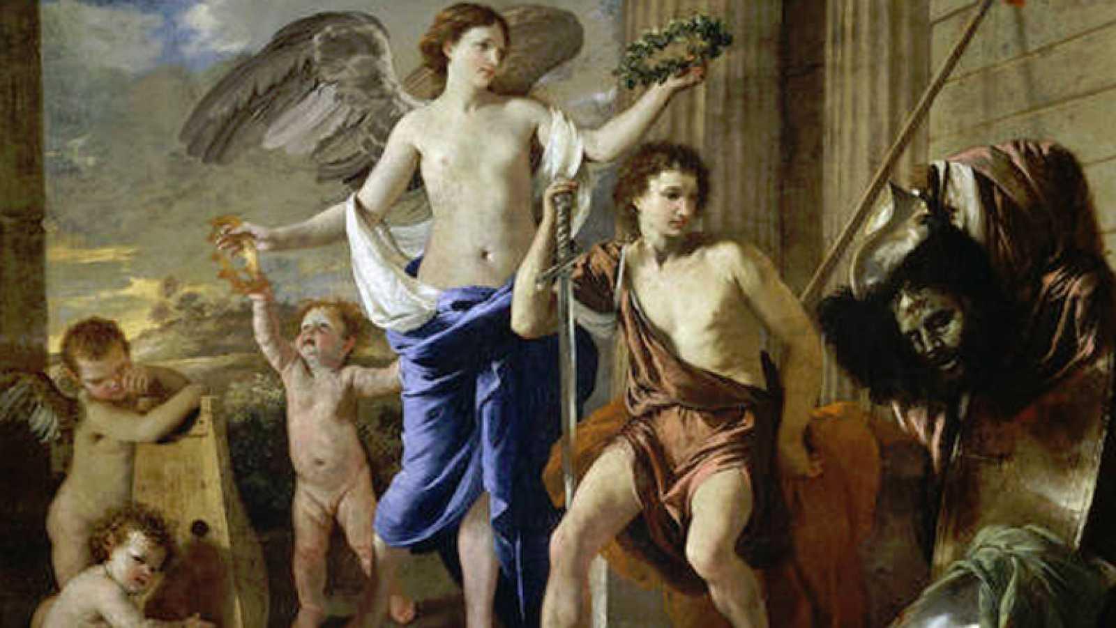 Mirar un cuadro - El triunfo de David (Poussin)