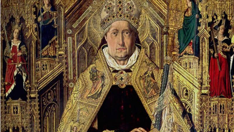 Mirar un cuadro - Santo Domingo de Silos (Bartolomé Bermejo)