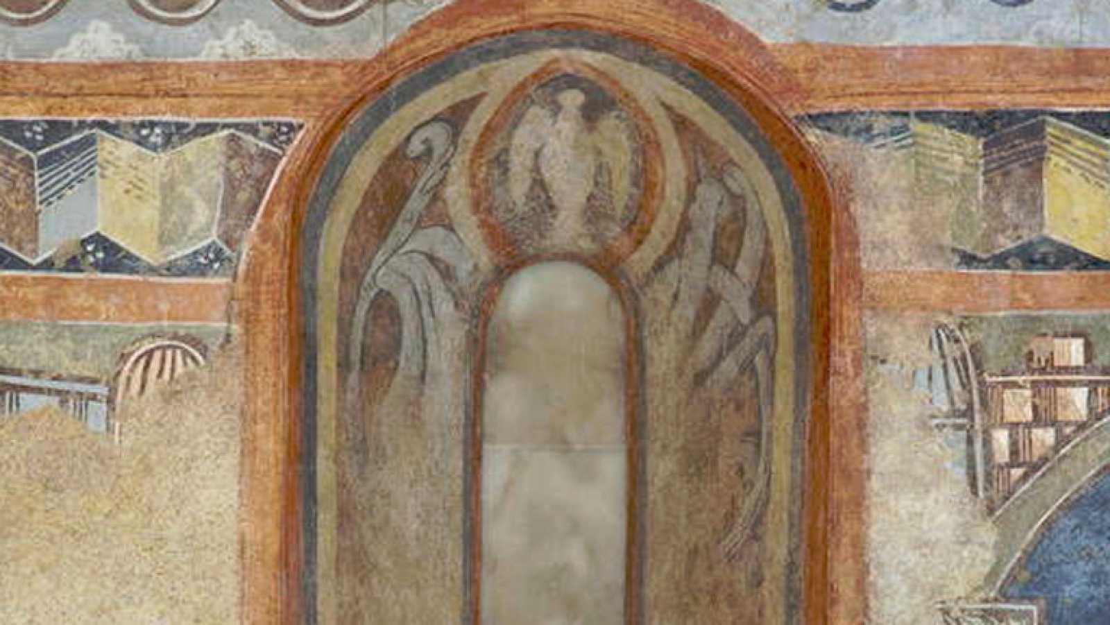 Mirar un cuadro - Ermita de la Veracruz de Maderuelo (Anónimo)