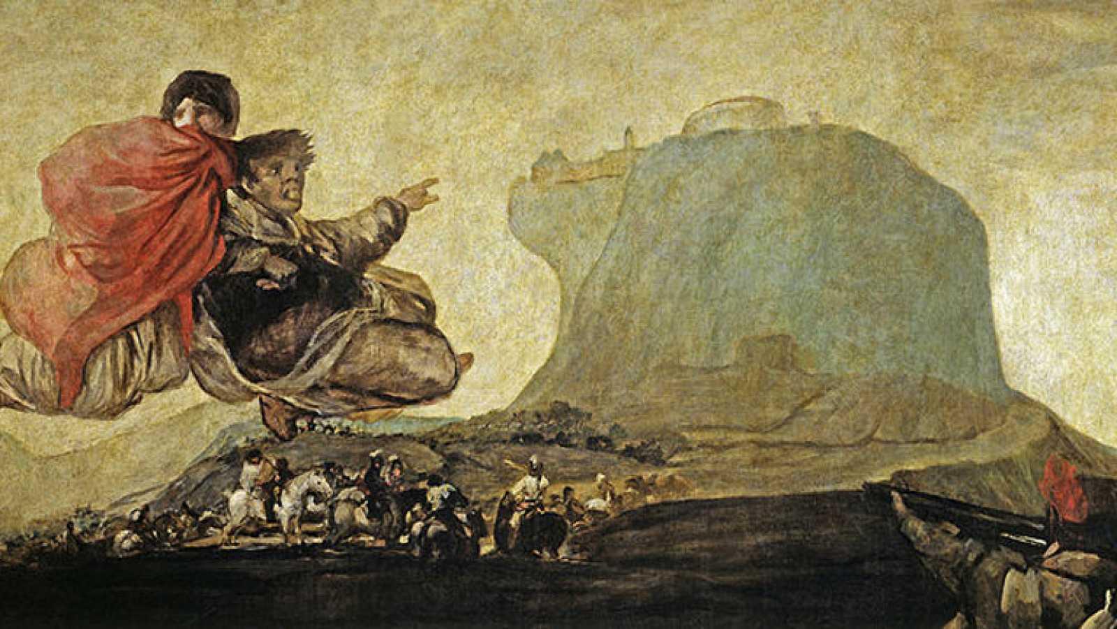 Mirar un cuadro - Visión fantástica (Goya)