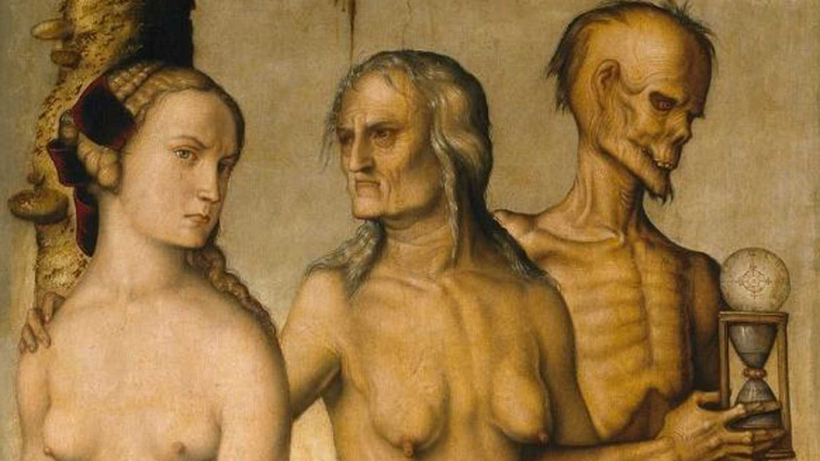 Mirar un cuadro - Las edades y la muerte (Hans Baldung Grien)