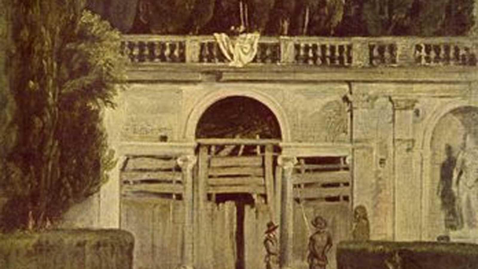 Mirar un cuadro - Villa Médicis (Velázquez)