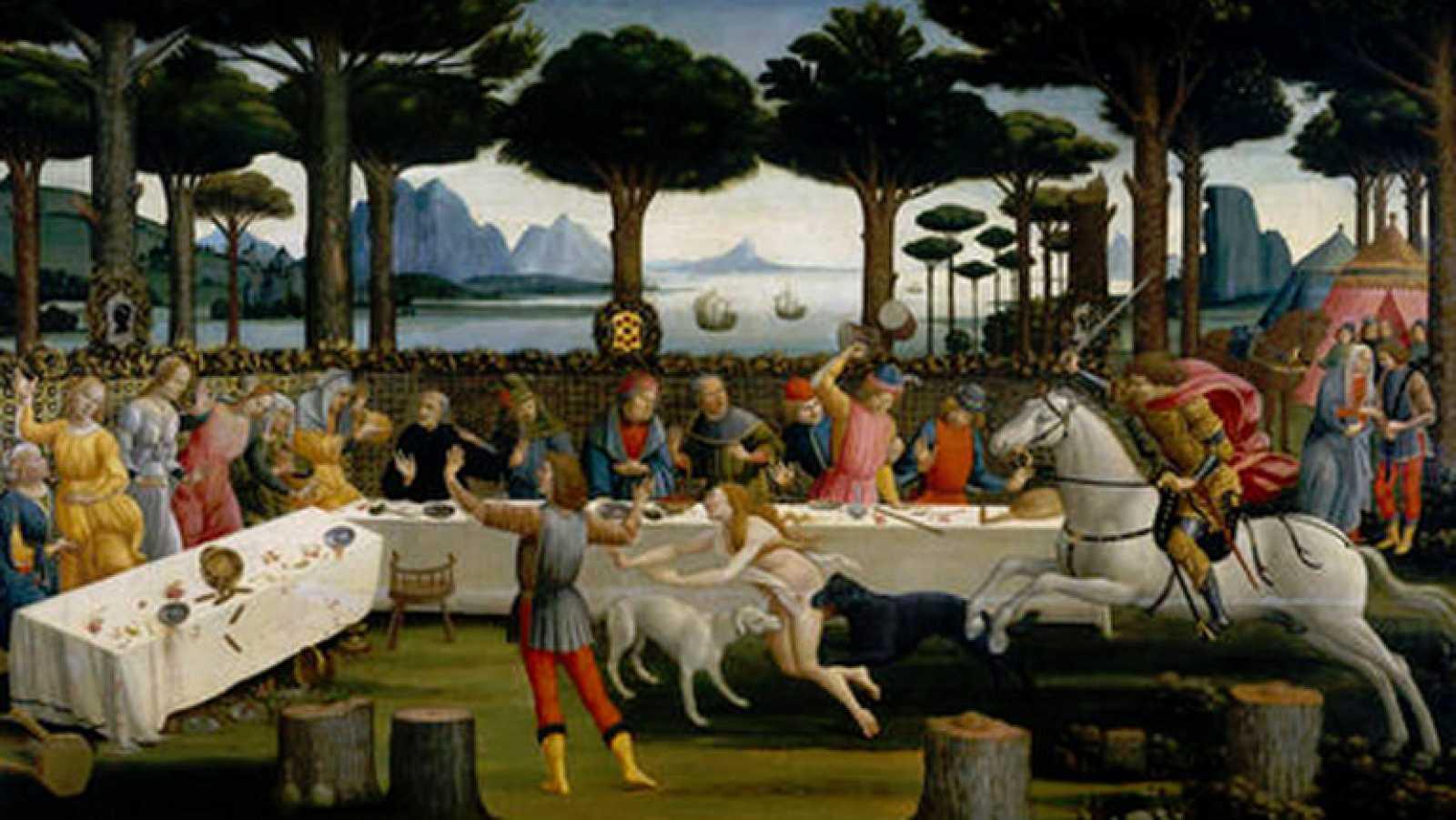 Mirar un cuadro - Historia de Nastagio degli Onesti (Botticelli)