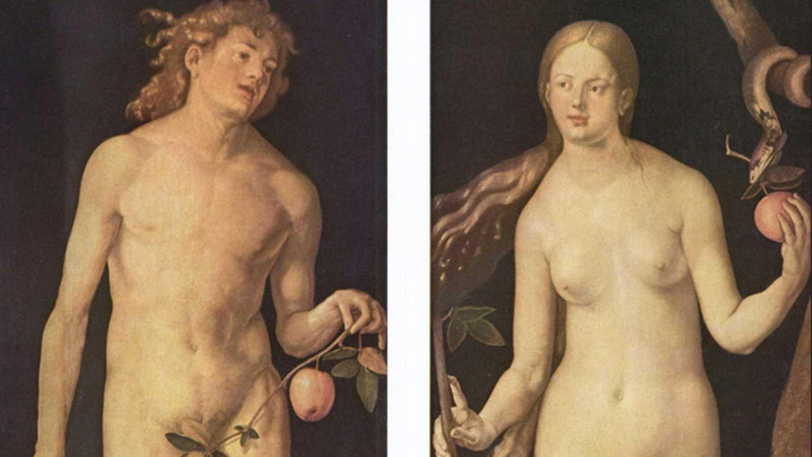 Mirar un cuadro - Adán y Eva (Durero)