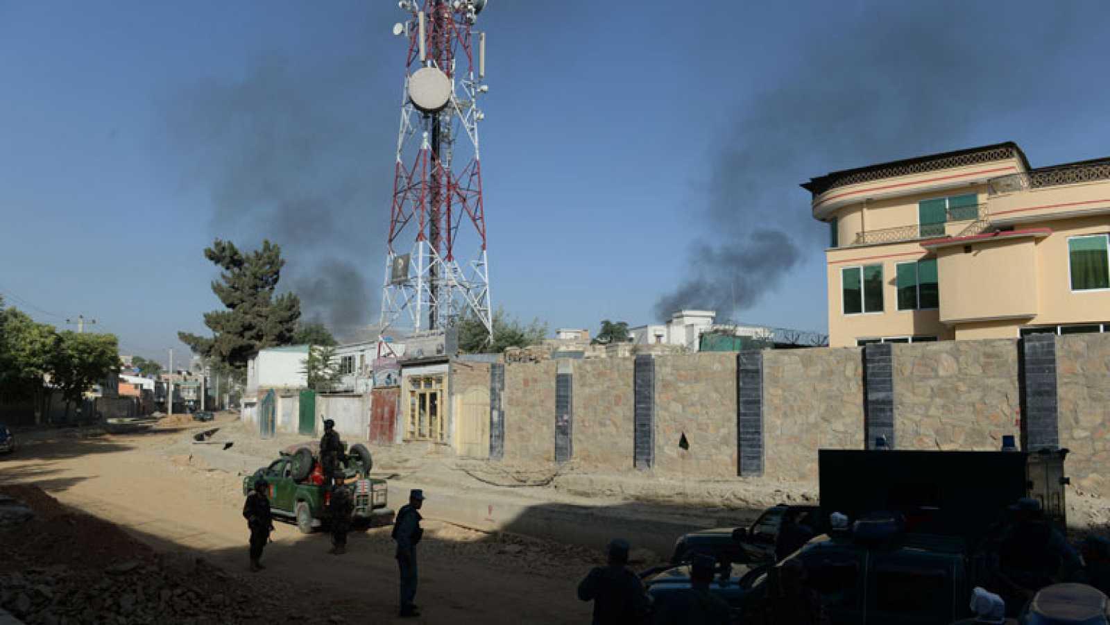 Un grupo de talibanes ataca el palacio del presidente en Kabul