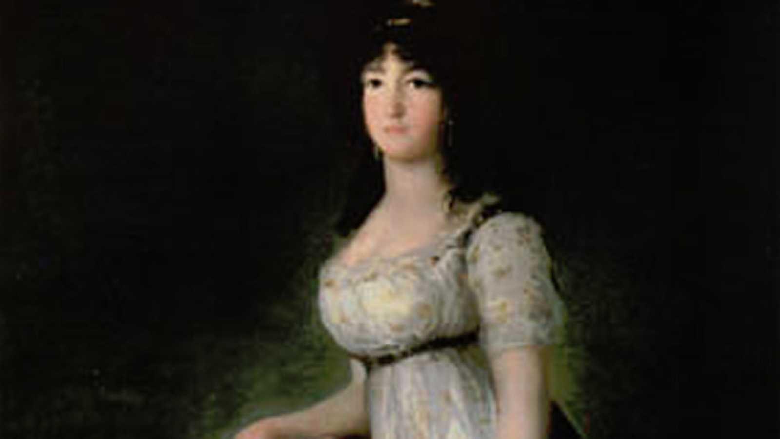 Mirar un cuadro - La marquesa de Lazán (Goya)