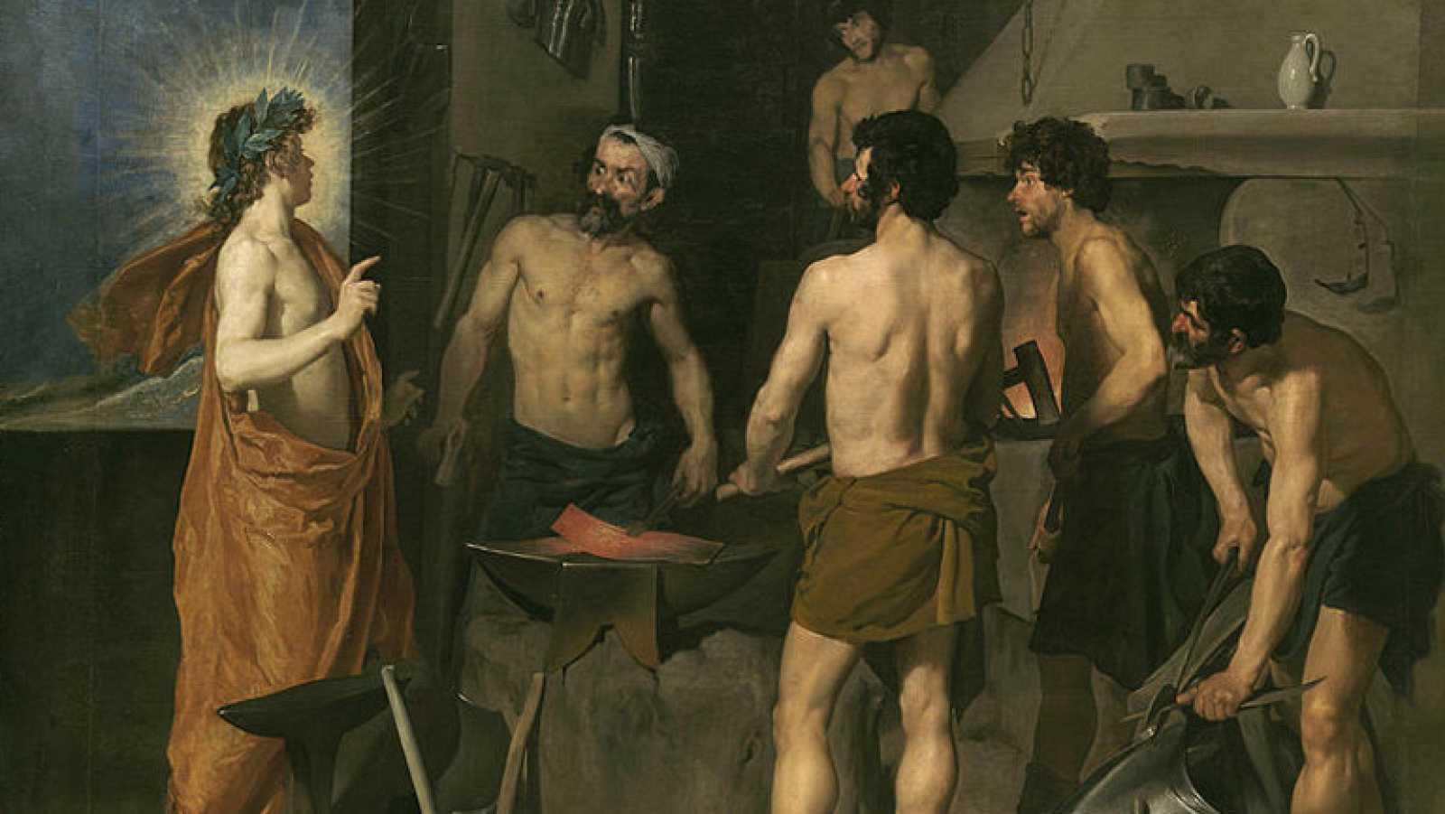 Mirar un cuadro - La fragua de Vulcano (Velázquez)