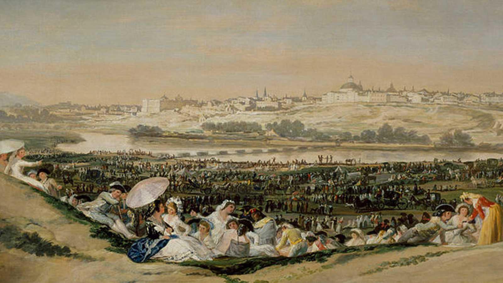 Mirar un cuadro - La pradera de San Isidro (Goya)