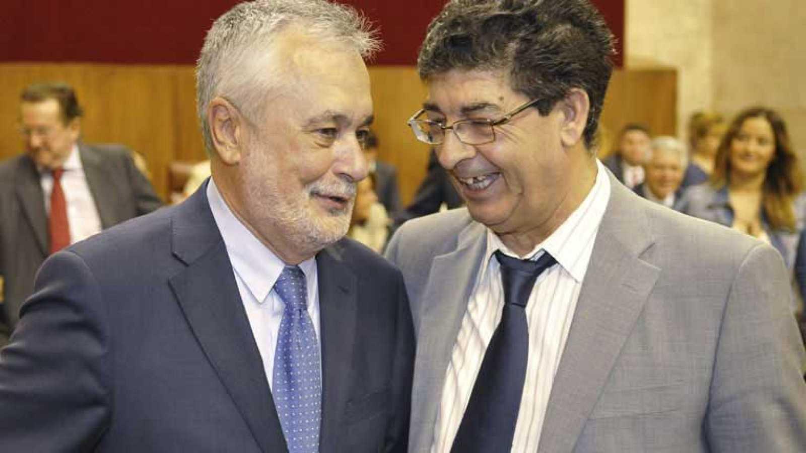 A José Antonio Griñán le quedan tres años al frente de la Junta de Andalucía