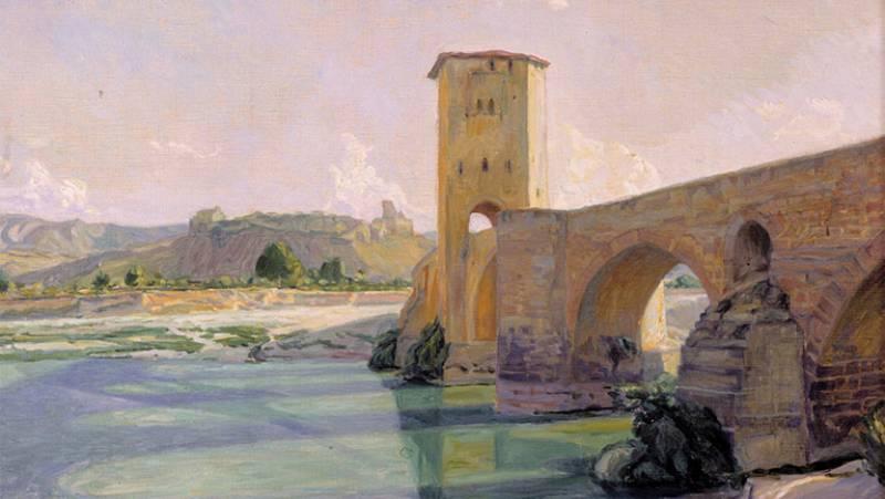 Mirar un cuadro - El puente de Frías (Fernando de Amarika)