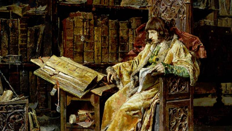 Mirar un cuadro - El príncipe de Viana (José Moreno Carbonero)