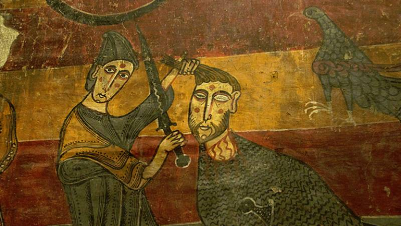 Mirar un cuadro - Lucha de David y Goliat (Anónimo)