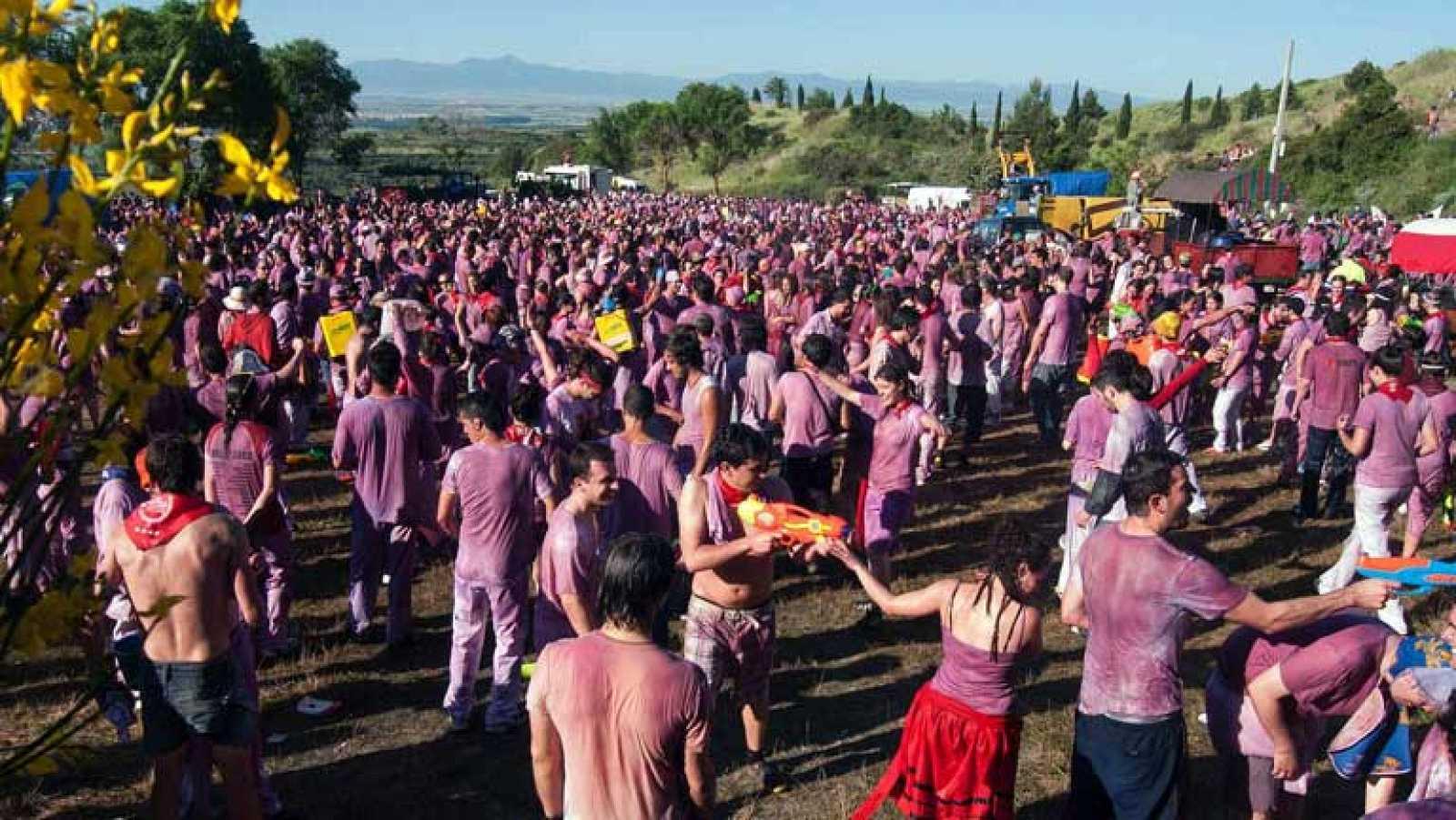 Batalla del Vino en Haro, La Rioja