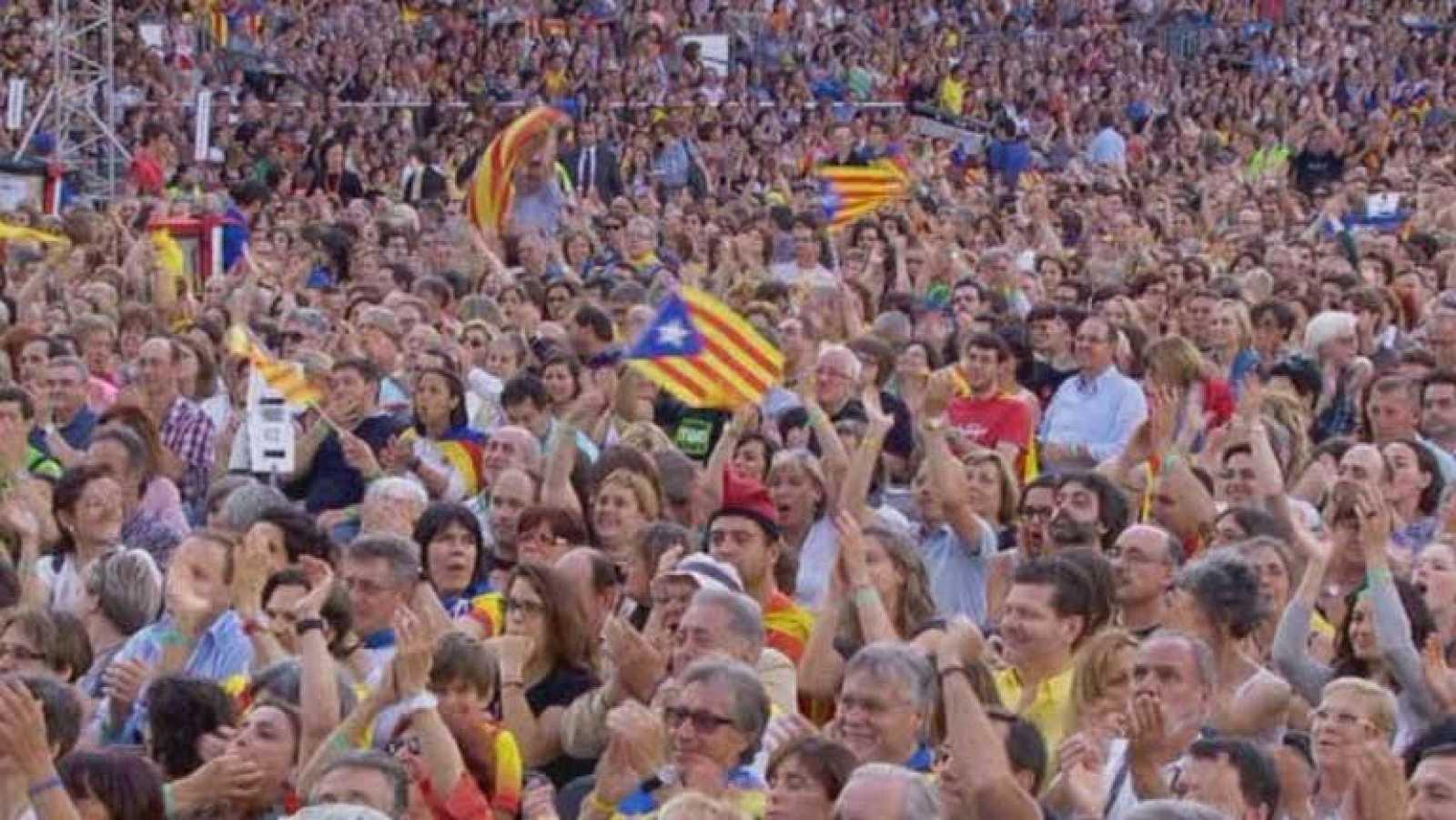 Concierto en Barcelona por la independencia