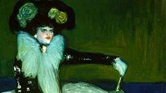 Mirar un cuadro - La mujer en azul (Picasso)
