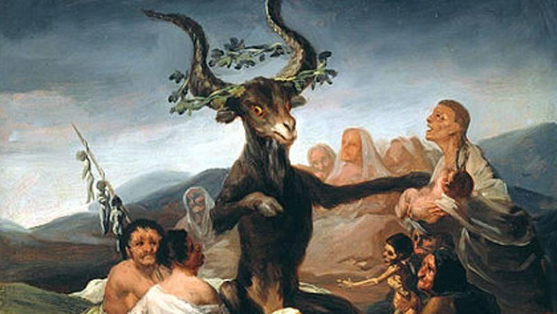 Mirar un cuadro - Aquelarre (Goya)