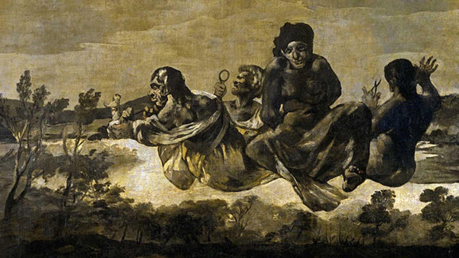 Mirar un cuadro - El destino o Las parcas (Goya)