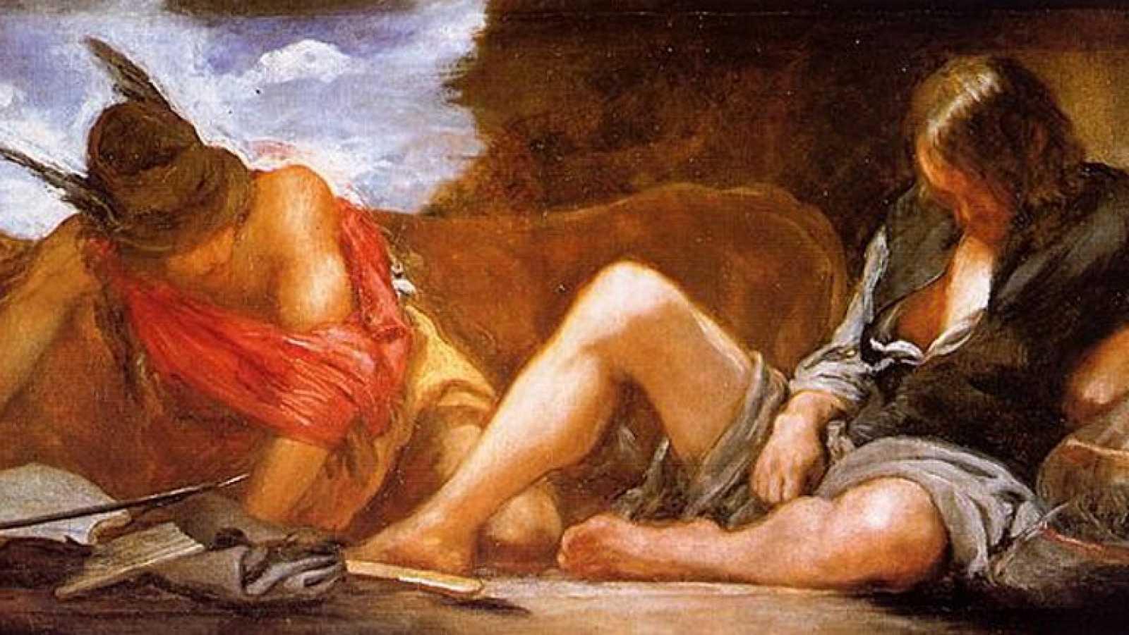 Mirar un cuadro - Mercurio y Argos (Velázquez)