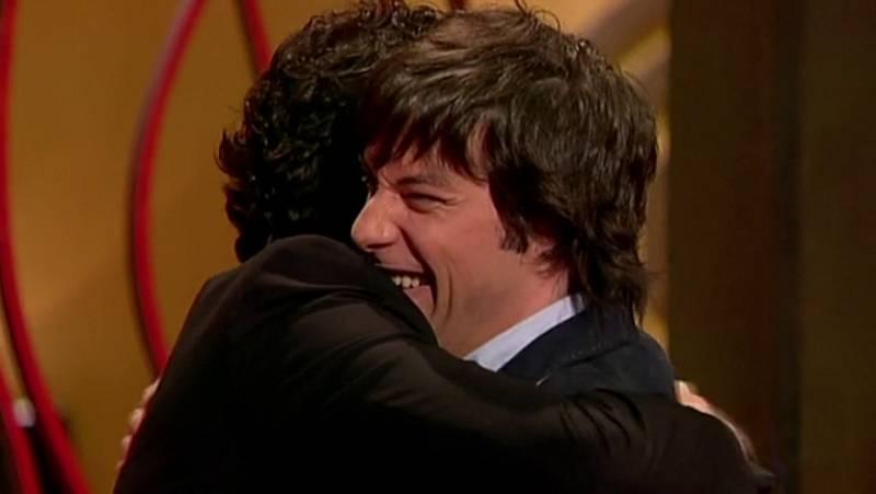 MasterChef - Pepe y Jordi sellan su amistad con un abrazo