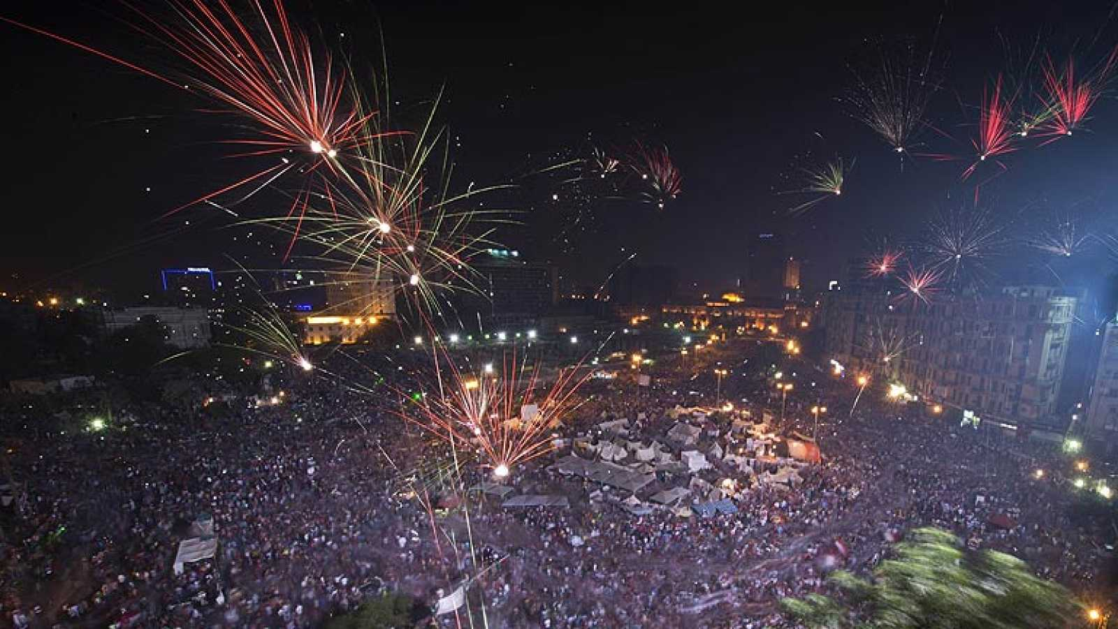 Tahrir apoya el golpe de Estado de los militares