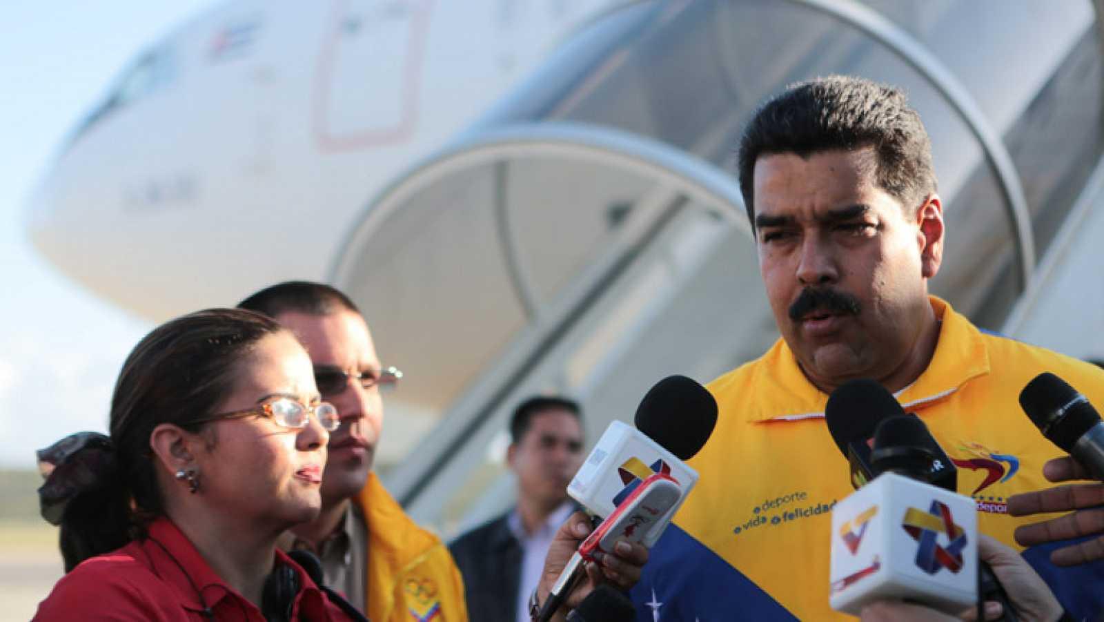 """Maduro califica de """"infame"""" el trato del Gobierno español al vuelo de Morales"""