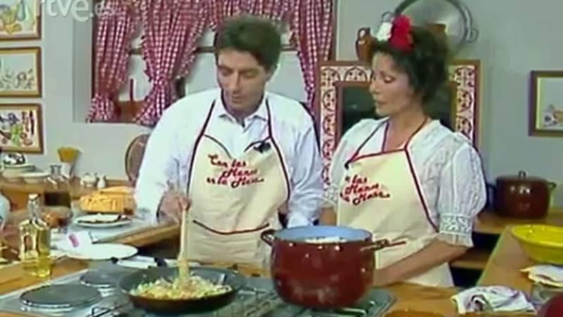 Con las manos en la masa - Elena Santonja cocina con Joaquín Sabina