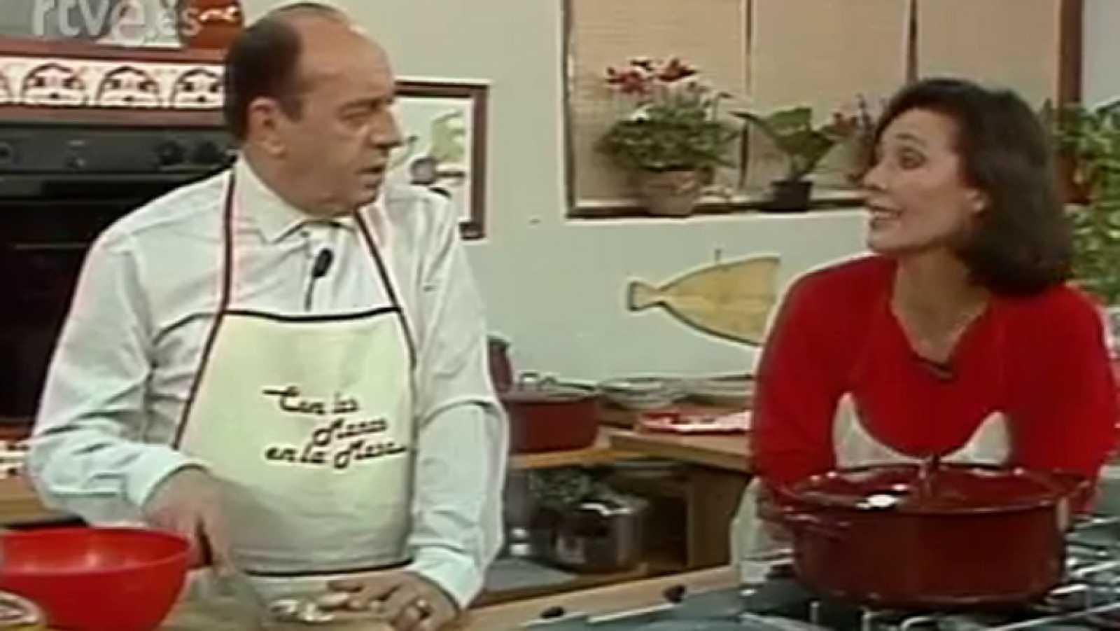Con las manos en la masa - Elena Santonja y Juanito Navarro
