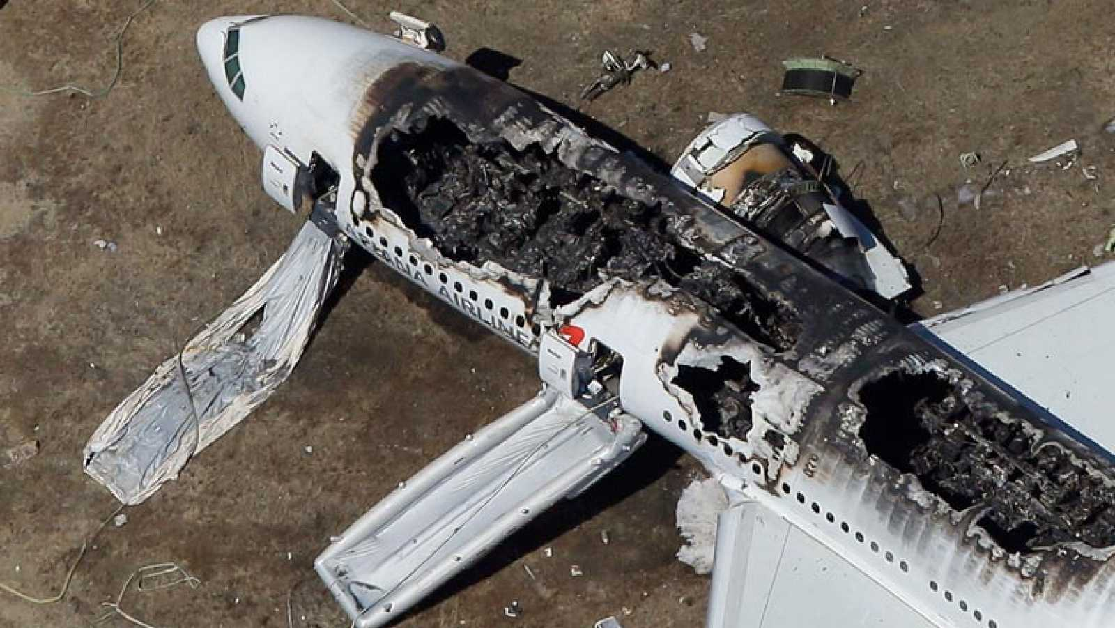 Dos muertos y 181 heridos tras estrellarse un avión en el aeropuerto de San Francisco