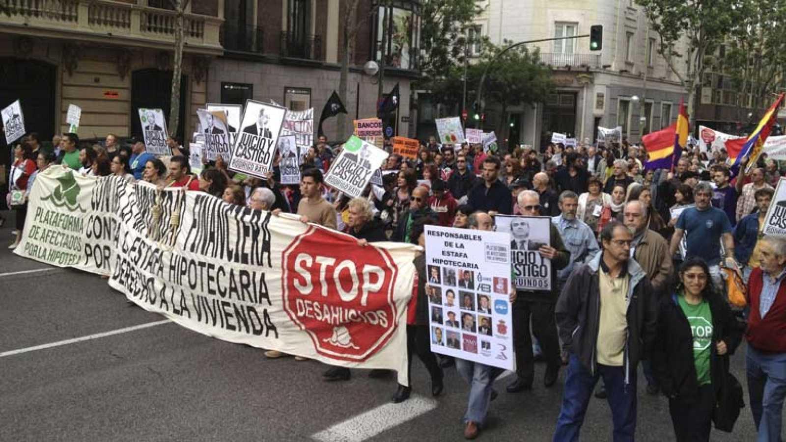 El Tribunal Constitucional suspende el decreto andaluz sobre desahucios