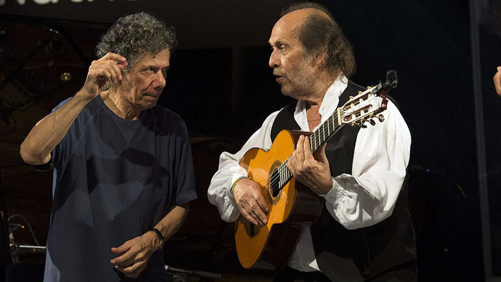 Paco de Lucía y Chick Corea cierran el Festival de Jazz de Vitoria
