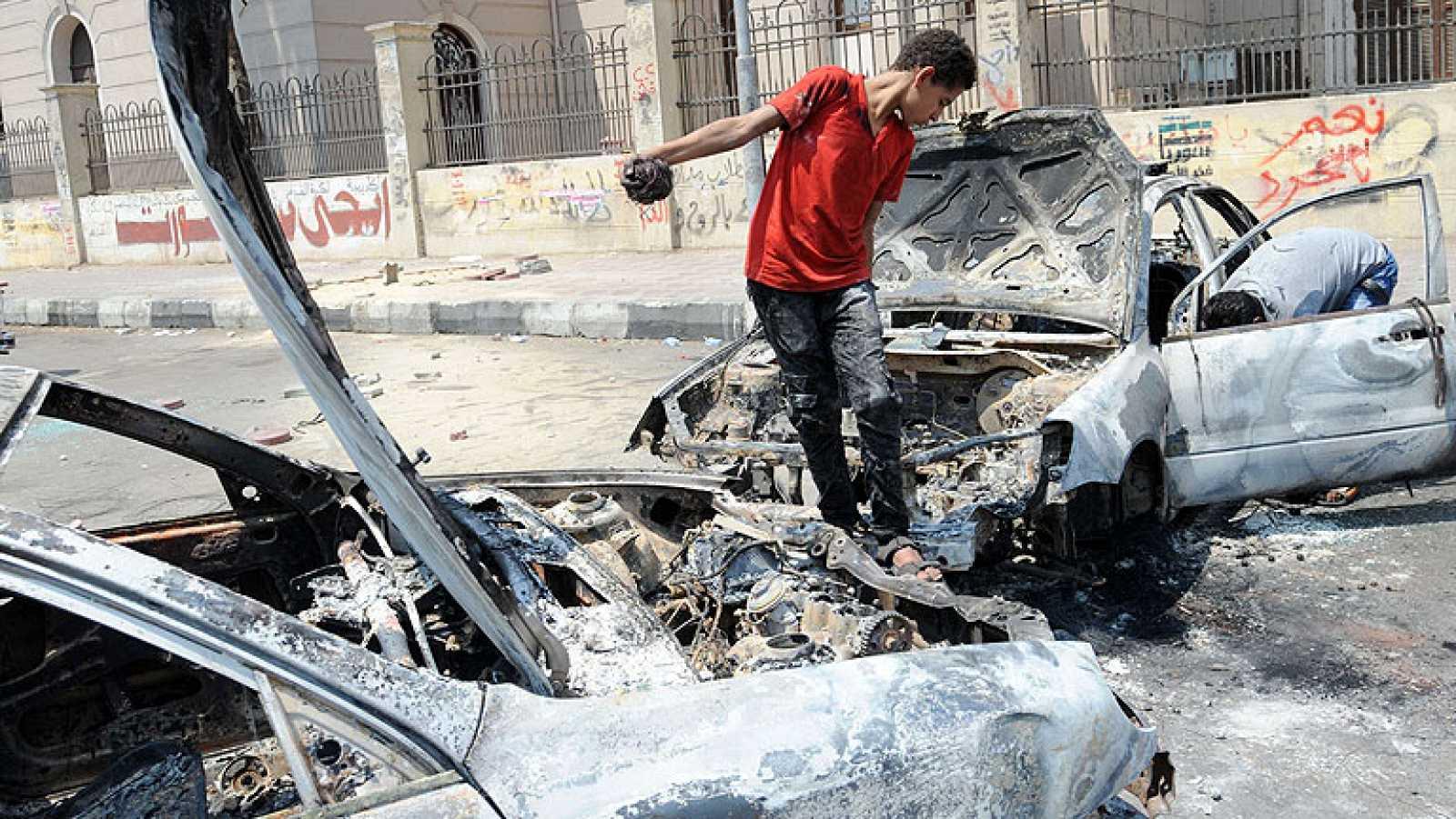 Sigue la tensión en Egipto