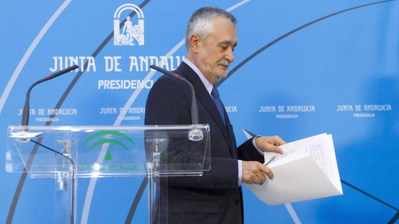 José Antonio Griñán anuncia que deja la presidencia de la Junta de Andalucía pero no la política