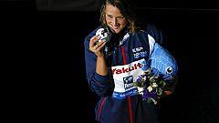 Belmonte se cuelga la plata en los 200 mariposa