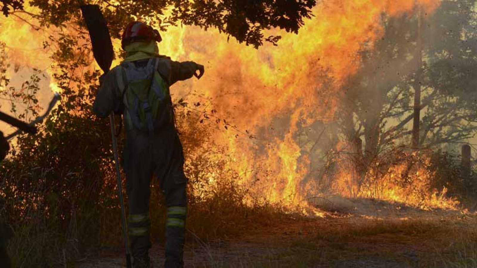Detenido un guardia civil como presunto autor de una veintena de incendios en la sierra de Madrid