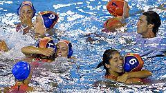 Las chicas del waterpolo logran un oro histórico en los Mundiales de Barcelona