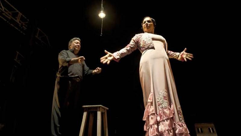 La coreógrafa y bailarina  Eva Yerbabuena deslumbró en el festival del Cante de las Minas