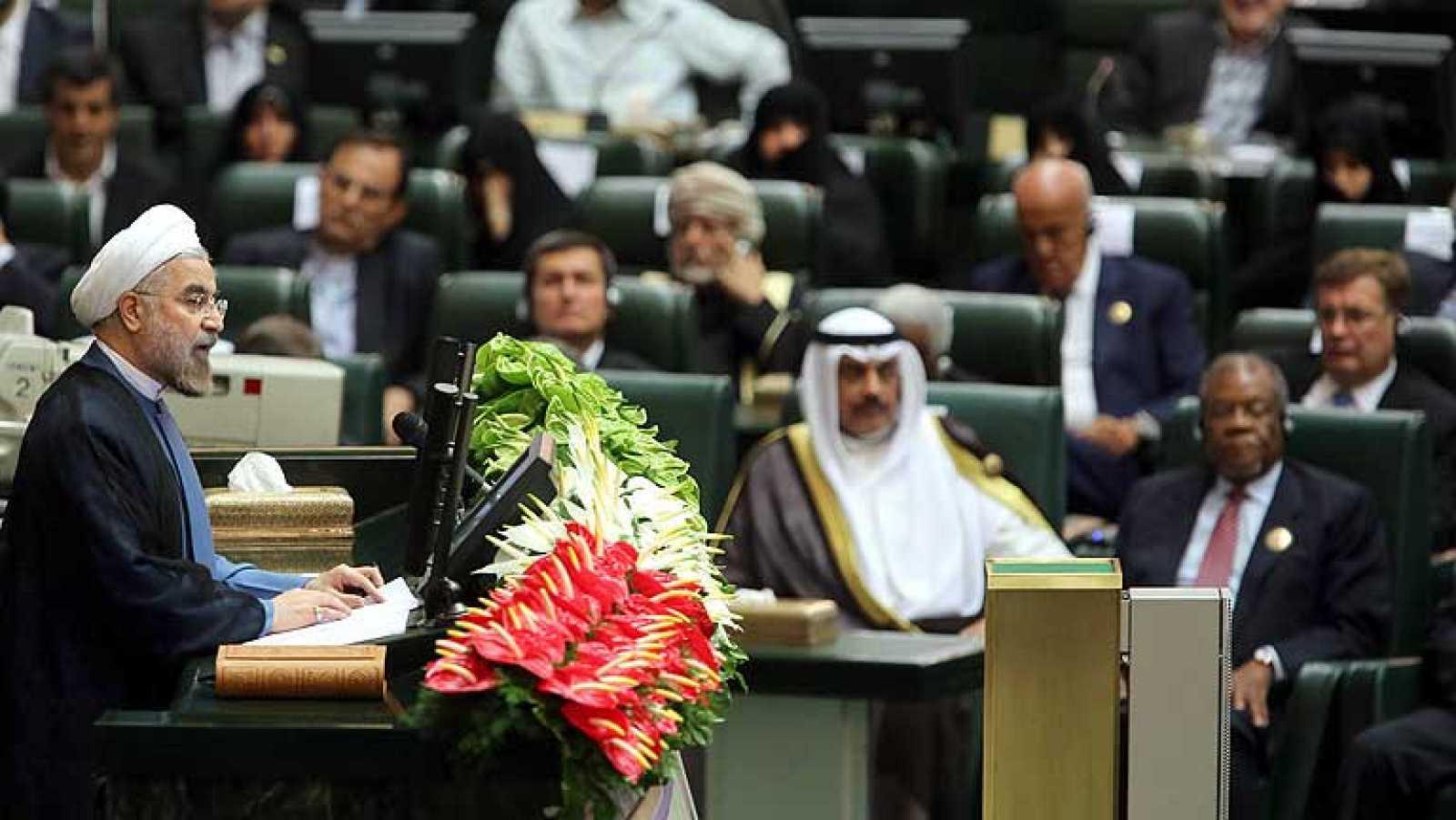 Hasán Rohaní jura su cargo como nuevo presidente de Irán