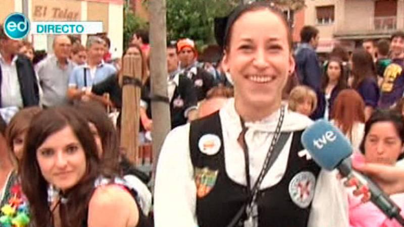 España Directo- Nos vamos a Vitoria a las fiestas de la Virgen Blanca