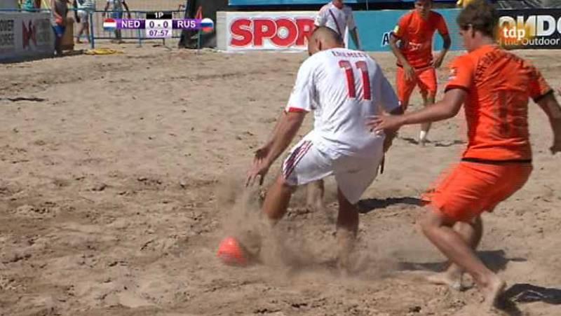 Fútbol playa - Final Liga Europea: Rusia-Holanda - ver ahora