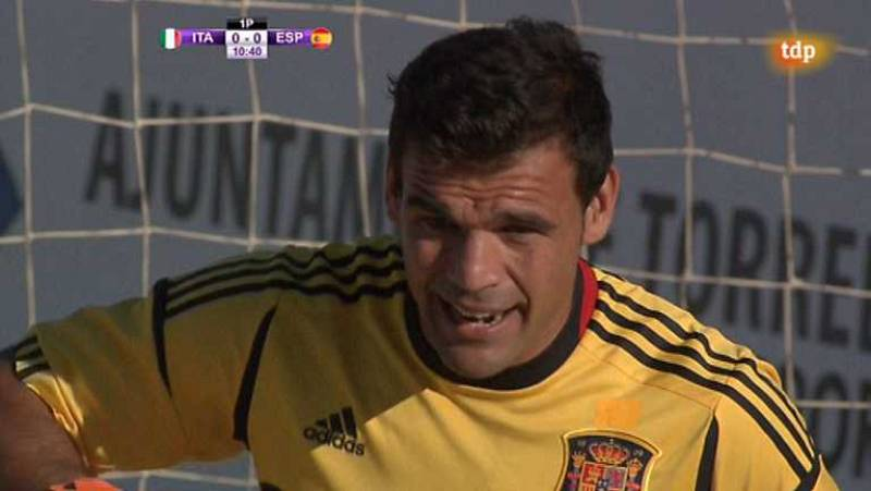 Fútbol playa - Final Liga Europea: España-Italia - ver ahora