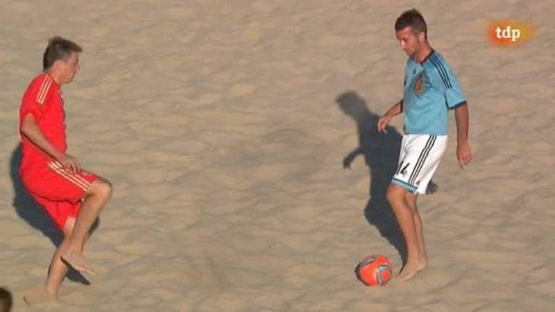 Fútbol playa - Final Liga Europea: España-Rusia - ver ahora