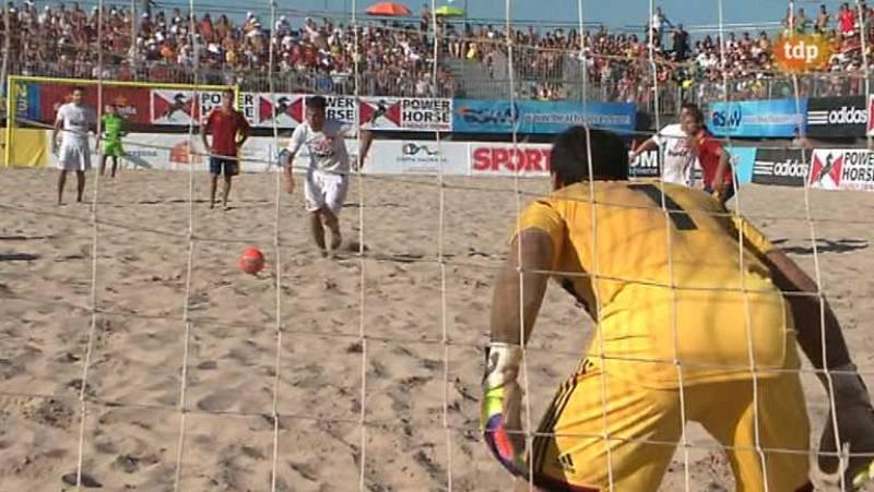 Fútbol playa - Final Liga Europea: España-Suiza - ver ahora
