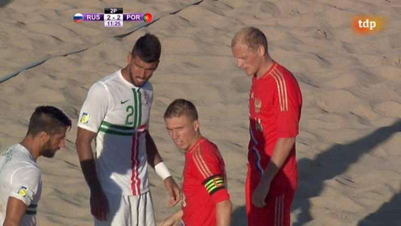 Fútbol playa - Final Liga Europea: Rusia-Portugal - ver ahora
