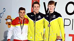 La natación paralímpica ya suma medallas en los mundiales