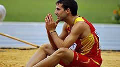 Cáceres, a un centímetro de la medalla de bronce