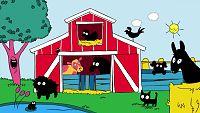 Los animales de granja con Simón