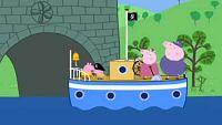El barco del abuelo pig