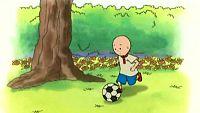 Caillou chuta la pelota